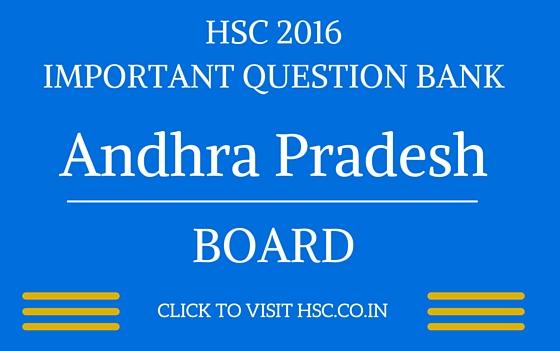 andhra pradesh HSC 2016 IMPORTANT QUESTION BANK