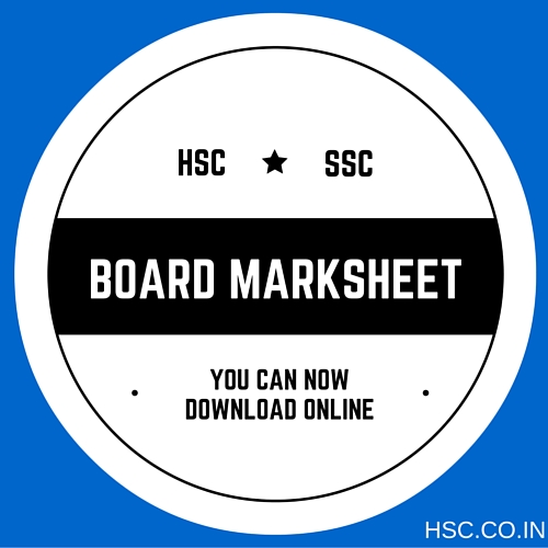 HSC MARKSHEET DOWNLOAD ONLINE – HSC – Higher Secondary