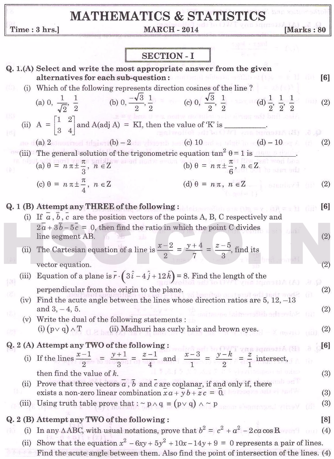year 11 standard maths past papers