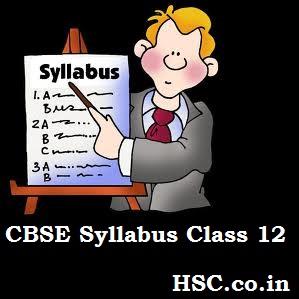 HSC Syllabus – CBSE Board – HSC – Higher Secondary Education