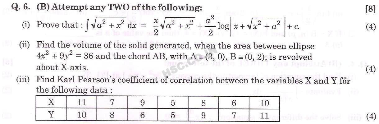mathematics & Statistics Oct 2013 4