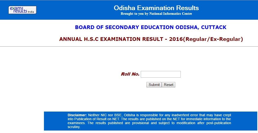 odisha cuttack board 12th result 2016