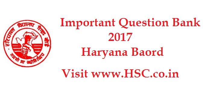 class XII haryana board 12
