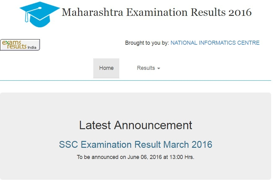 SSC Maharashtra Board Result 2016