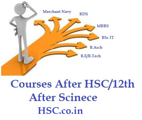 Scinece courses after hsc 12th std