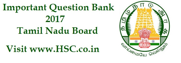 Commerce – Important Question Bank for Tamil Nadu (12th Std
