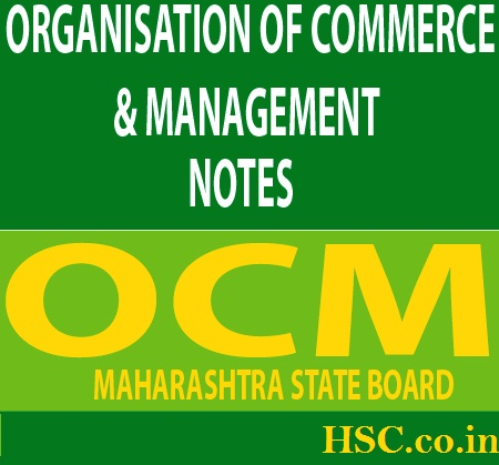 12th std organisation of commerce management notes – HSC