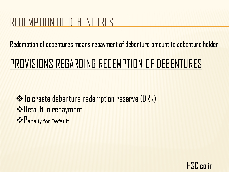issue of debenture-7