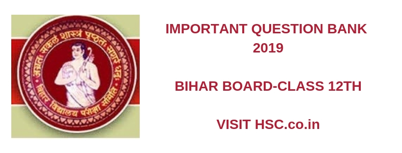 Business Studies Important Question Bank for Bihar Class 12th