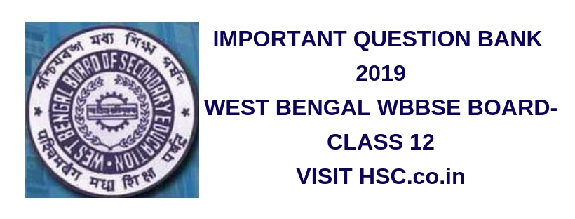 Business Studies – Important Question Bank for West Bengal Class XII