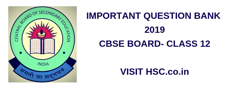 Business Studies – Important Question Bank for CBSE Class XII (HSC