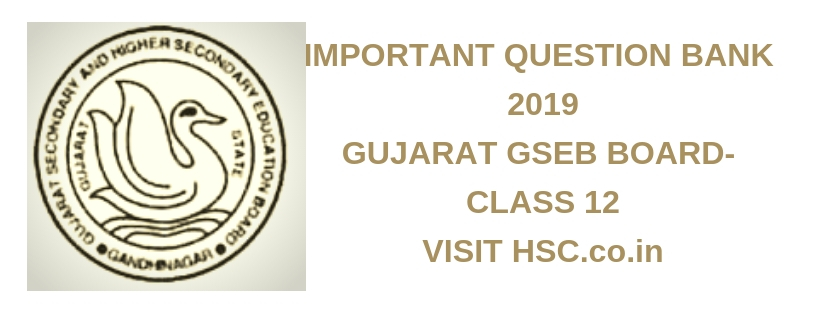 Physics – Important Question Bank for Gujarat (12th std) HSC